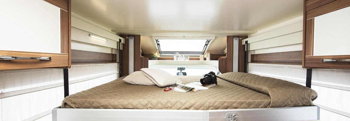 Midland Motorhomes Sleeping Area