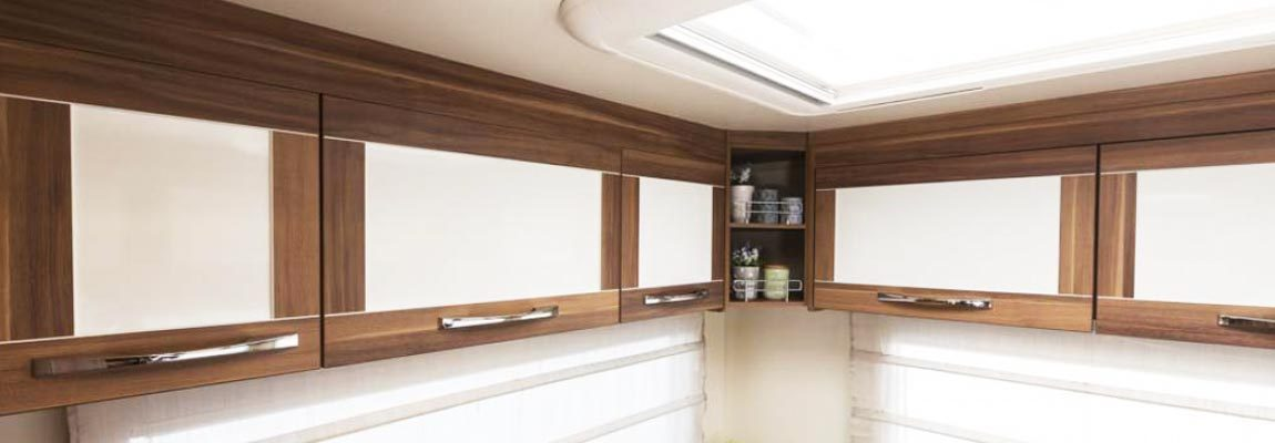 Motorhome storage solutions