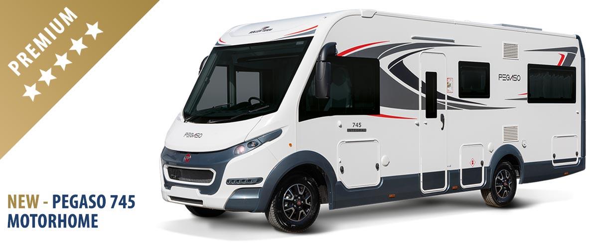 New Pegaso 745 MotorHome for 2019