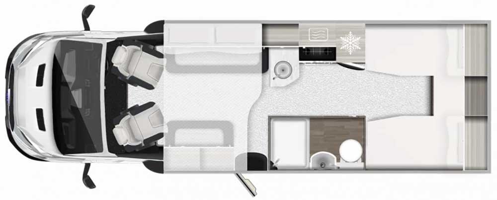 F70 Motorhome Layout